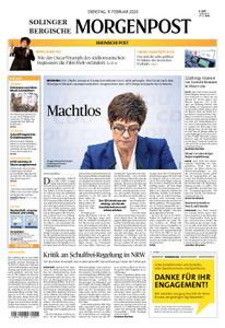 Solinger Morgenpost – 11. Februar 2020