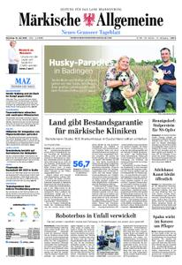 Märkische Allgemeine Neues Granseer Tageblatt - 16. Juli 2019