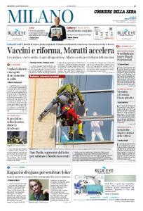 Corriere della Sera Milano – 10 gennaio 2021
