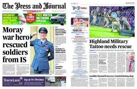 The Press and Journal Moray – November 22, 2017