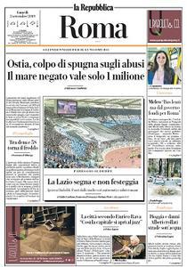 la Repubblica Roma - 2 Settembre 2019