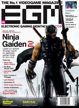 Electronic Gaming Monthly (EGM) December 2007