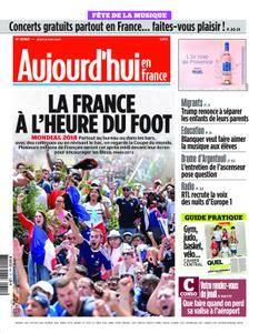 Aujourd'hui en France – 21 juin 2018