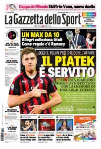 La Gazzetta dello Sport Sicilia – 18 gennaio 2019