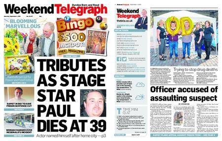 Evening Telegraph First Edition – September 01, 2018