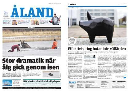 Ålandstidningen – 16 april 2018
