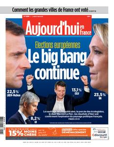 Aujourd'hui en France – 27 mai 2019