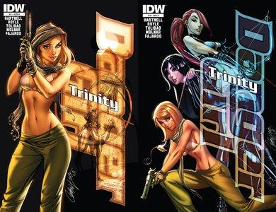 Danger Girl Trinity #1-4 (2013) Complete