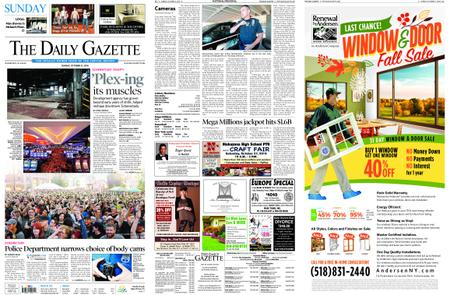 The Daily Gazette – October 21, 2018