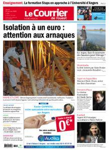 Le Courrier de l'Ouest Nord Anjou – 23 janvier 2020