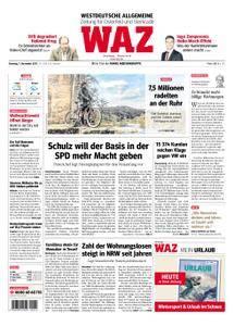 WAZ Westdeutsche Allgemeine Zeitung Oberhausen-Sterkrade - 07. November 2017