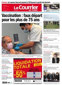 Le Courrier de l'Ouest Angers – 15 janvier 2021