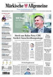 Neue Oranienburger Zeitung - 18. April 2018