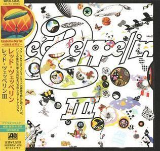 Led Zeppelin - Led Zeppelin III (1970) [Atlantic WPCR-14845, Japan]