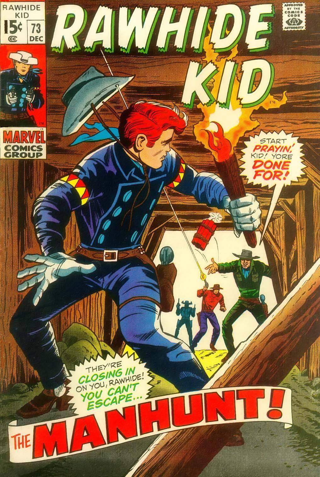 Rawhide Kid v1 073 1969