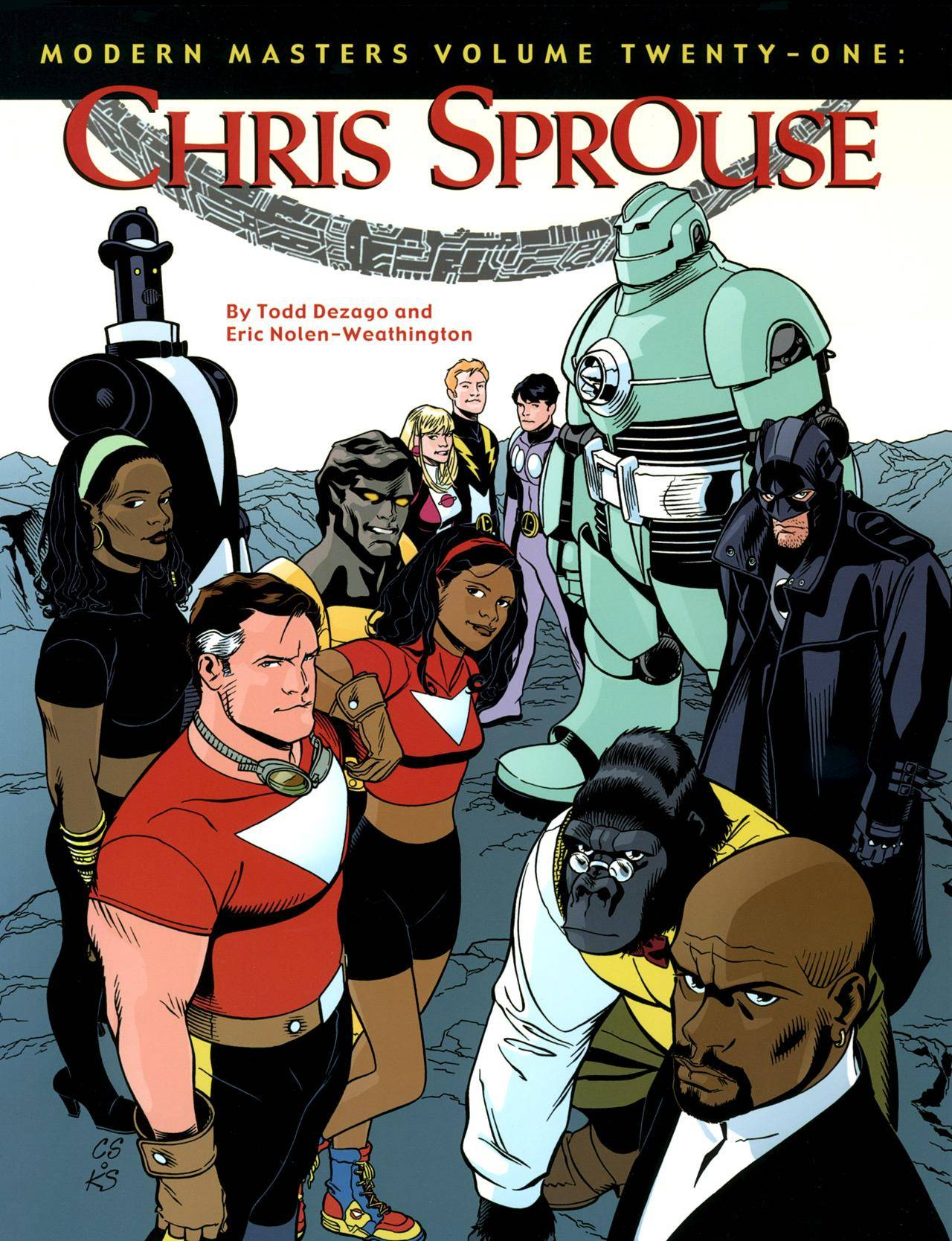 Modern Masters Vol 21 - Chris Sprouse 2009