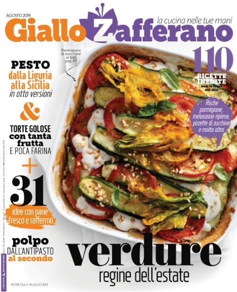 Giallo Zafferano - Agosto 2019
