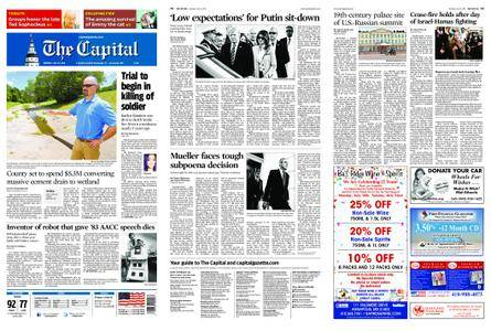 The Capital – July 16, 2018
