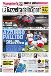 La Gazzetta dello Sport – 08 settembre 2018