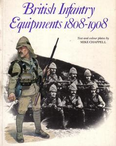 British Infantry Equipments (1): 1808-1908 (Men-at-Arms Series 107)