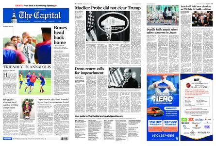The Capital – May 30, 2019