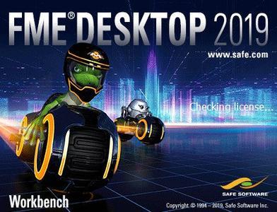 Safe Software FME Desktop 2019.0.1.19253