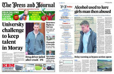 The Press and Journal Moray – May 11, 2018