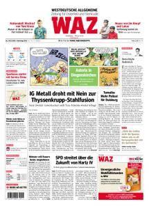 WAZ Westdeutsche Allgemeine Zeitung Oberhausen-Sterkrade - 29. März 2018