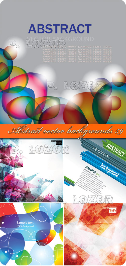 Abstract vector backgrounds 59