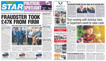 Shropshire Star Shrewsbury Edition – November 26, 2019