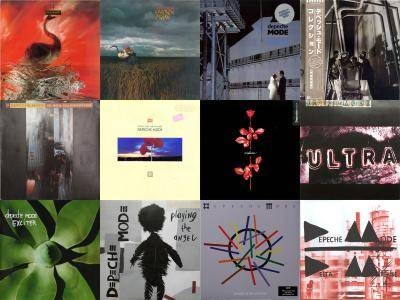 Depeche Mode: Collection (1981 - 2013) [Vinyl Rip 16/44 & mp3-320] Re-up