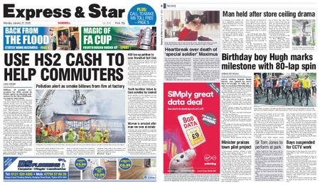 Express and Star Sandwell Edition – January 27, 2020