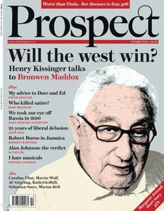 Prospect Magazine - October 2014