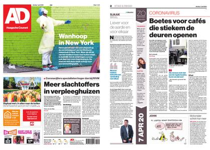 Algemeen Dagblad - Westland – 07 april 2020