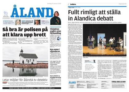 Ålandstidningen – 29 januari 2020