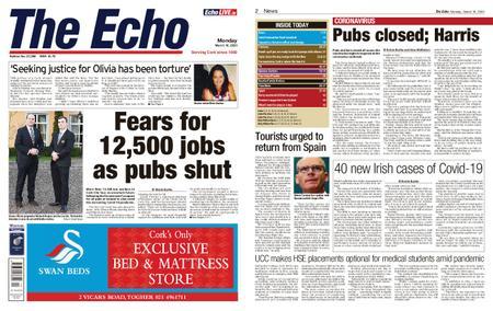 Evening Echo – March 16, 2020