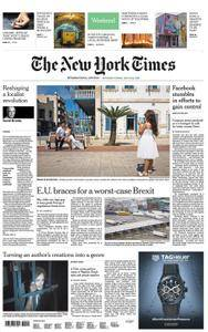 International New York Times - 21 July 2018