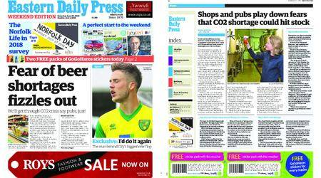 Eastern Daily Press – June 30, 2018