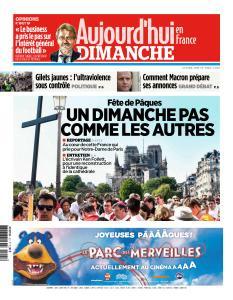 Aujourd'hui en France du Dimanche 21 Avril 2019