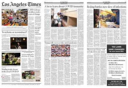 Los Angeles Times – June 15, 2020
