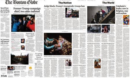 The Boston Globe – October 31, 2017