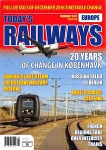 Todays Railways Europe - Issue 254 - February 2017