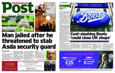 Nottingham Post – April 03, 2019