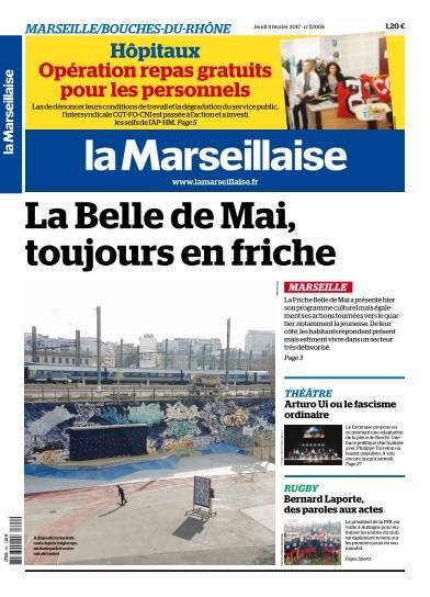 La Marseillaise du Jeudi 9 Février 2017