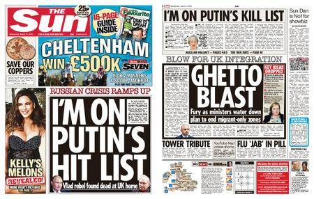The Sun UK – 14 March 2018