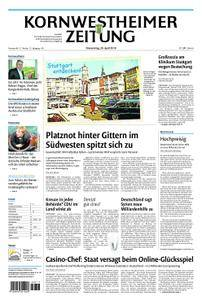 Kornwestheimer Zeitung - 26. April 2018