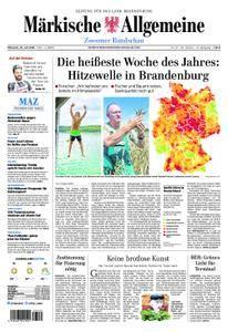 Märkische Allgemeine Zossener Rundschau - 25. Juli 2018