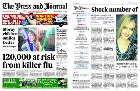 The Press and Journal Moray – January 13, 2018