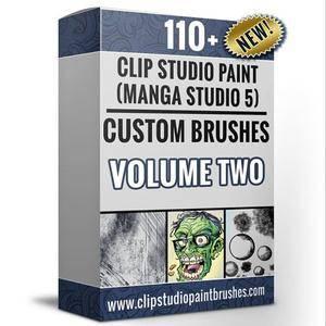 CreativeMarket - Clip Studio Paint Volume 2