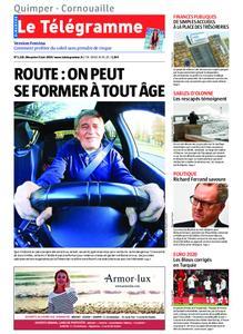 Le Télégramme Ouest Cornouaille – 09 juin 2019